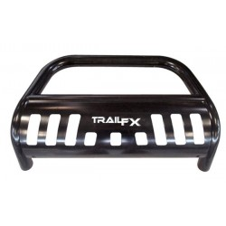 TrailFX Bull Bar Silverado 07-18 Powder Coated Black Steel 3 Inch Diameter