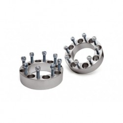 "Rough Country 2"" Wheel Spacer Silverado Sierra Ram 8x6.5"