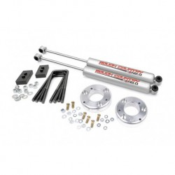 """Rough Country Ford F-150 09-13 2' / 1""""' Leveling Lift Kit"""