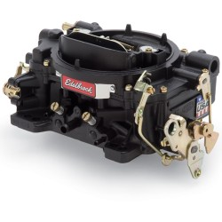 Edelbrock 750cfm Black Carburator Manual Choke