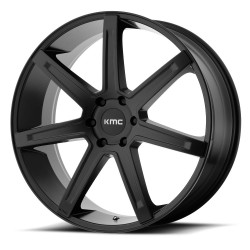 "KMC Revert 20"" Silverado Sierra 1500 6x139.7 +18mm Satin Black"