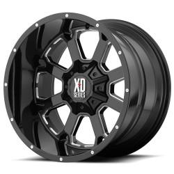 """XD Buck 20"""" Silverado Sierra Ford F150 6x135/6x139.7 20x9 Black"""