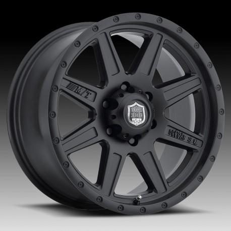 "M/T 20"" Dodge Ram 1500 Mickey Thompson Deegan 38 Pro 2 Wheel Set Matte Black"