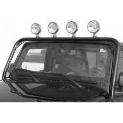 Light Bar TrailFX Jeep Wrangler JK 2007-2014 Black Powder Coated