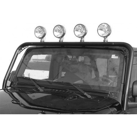Light Bar TrailFX Jeep Wrangler JK 2007-2014 Black Powder Coated